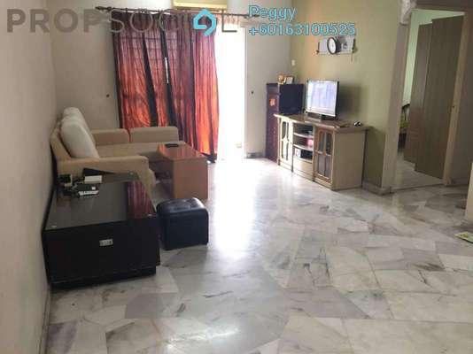 Apartment For Rent in Kenanga Apartment, Pusat Bandar Puchong Freehold Fully Furnished 2R/2B 1.3k