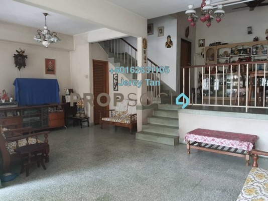 Terrace For Sale in Taman OUG, Old Klang Road Freehold Semi Furnished 4R/3B 948k