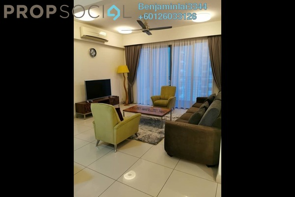 Condominium For Rent in The Westside One, Desa ParkCity Freehold Fully Furnished 2R/3B 3k