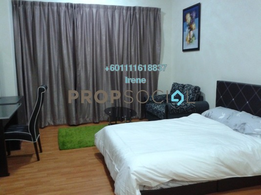 Condominium For Sale in Maytower, Dang Wangi Freehold Fully Furnished 0R/1B 350k