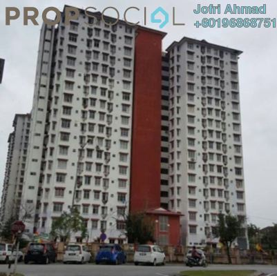 Apartment For Rent in Ilham Apartment, TTDI Jaya Freehold Fully Furnished 3R/2B 1.3k