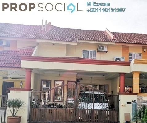 Terrace For Sale in Taman Bukit Rawang Jaya, Rawang Freehold Semi Furnished 4R/3B 460k