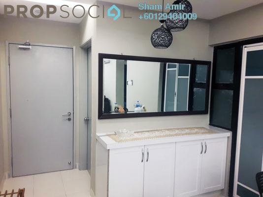 Apartment For Sale in Suria Ixora, Setia Alam Freehold Semi Furnished 3R/2B 340k