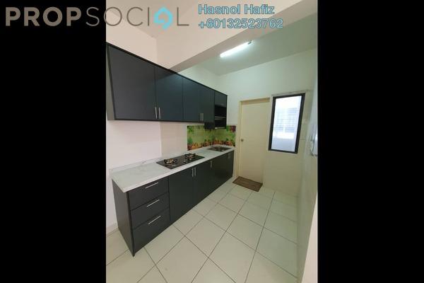 Apartment For Rent in Laman View, Cyberjaya Freehold Semi Furnished 3R/2B 1.2k