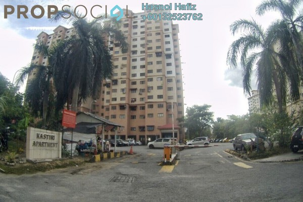 Apartment For Rent in Kasturi Apartment, Bandar Sri Permaisuri Freehold Fully Furnished 3R/2B 900translationmissing:en.pricing.unit