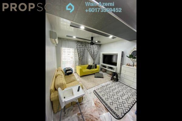 Condominium For Sale in Petaling Indah, Sungai Besi Freehold Semi Furnished 3R/2B 370k