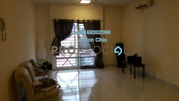Apartment For Rent in Pelangi Damansara Sentral, Mutiara Damansara Freehold Semi Furnished 1R/1B 1.3k