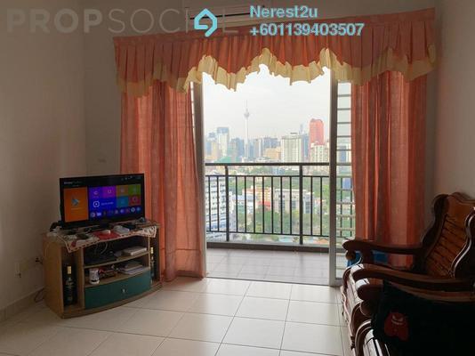 Condominium For Rent in Residensi Sentulmas, Sentul Freehold Fully Furnished 3R/2B 1.8k