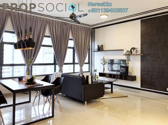 Condominium For Rent in Lakeville Residence, Jalan Ipoh Freehold Fully Furnished 3R/2B 2.5k