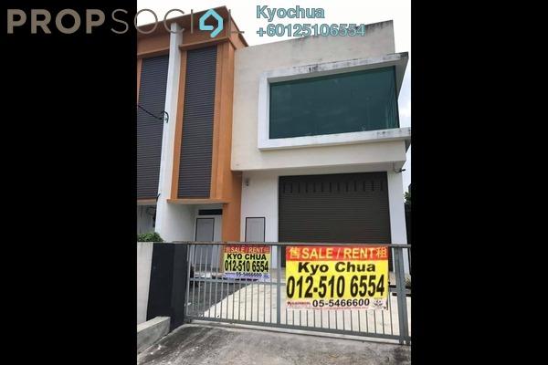 Factory For Sale in Medan Pengkalan Megah, Ipoh Leasehold Unfurnished 1R/2B 600k