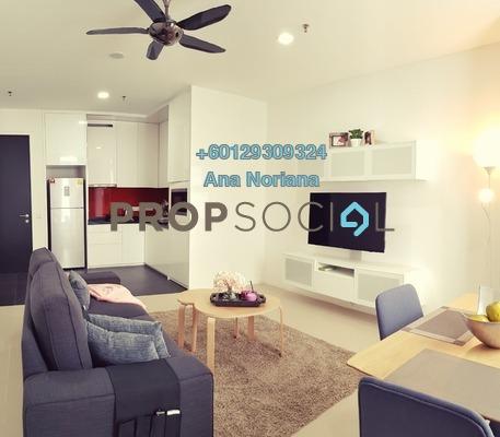 SoHo/Studio For Rent in Arcoris, Mont Kiara Freehold Fully Furnished 1R/1B 3.2k