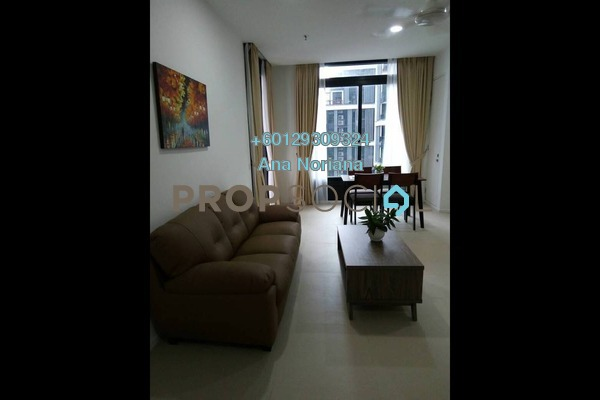 Serviced Residence For Rent in Arcoris, Mont Kiara Freehold Fully Furnished 1R/1B 2.7k