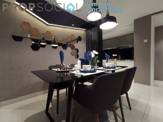 Serviced Residence For Sale in 99 Residence, Kuala Lumpur Leasehold Unfurnished 3R/2B 399k