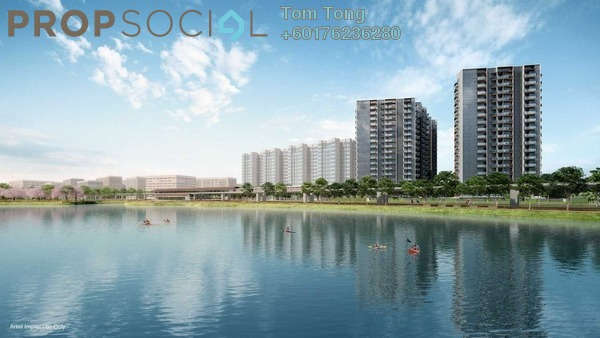 Condominium For Sale in Lakeville Residence, Jalan Ipoh Freehold Semi Furnished 1R/1B 400k