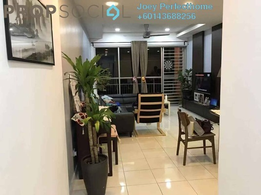 Condominium For Sale in Greenview Residence, Bandar Sungai Long Freehold Semi Furnished 3R/2B 468k