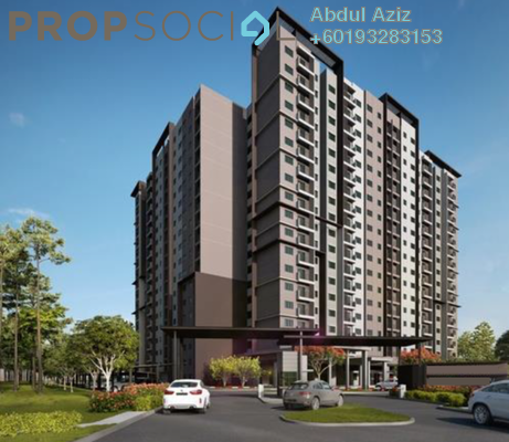 Apartment For Sale in Laman View, Cyberjaya Freehold Unfurnished 3R/2B 318k