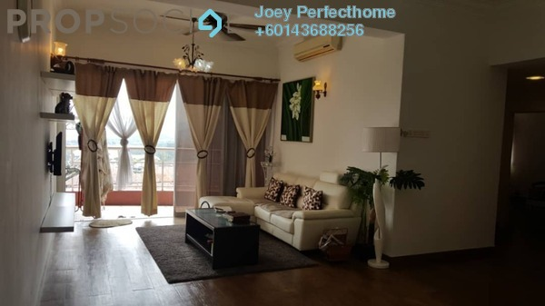 Condominium For Sale in Greenview Residence, Bandar Sungai Long Freehold Fully Furnished 3R/2B 458k
