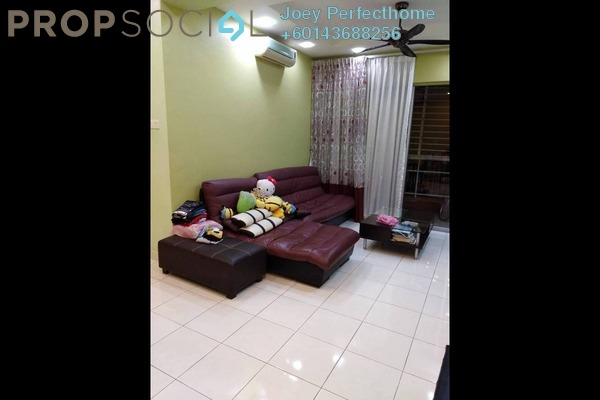 Condominium For Sale in Greenview Residence, Bandar Sungai Long Freehold Semi Furnished 4R/3B 390k