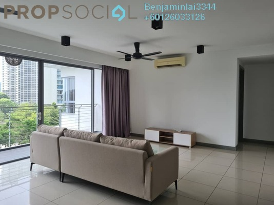 Condominium For Rent in The Westside One, Desa ParkCity Freehold Fully Furnished 2R/3B 4k