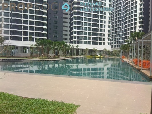 Condominium For Rent in KL Traders Square, Kuala Lumpur Freehold Semi Furnished 3R/2B 1.7k