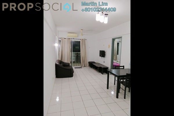 Apartment For Rent in Arena Green, Bukit Jalil Freehold Fully Furnished 2R/1B 1.2k