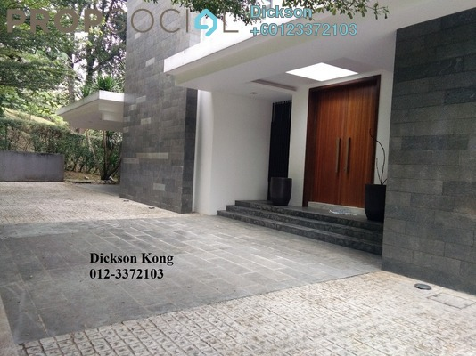 Bungalow For Sale in Bukit Tunku, Kenny Hills Freehold Semi Furnished 5R/6B 14m