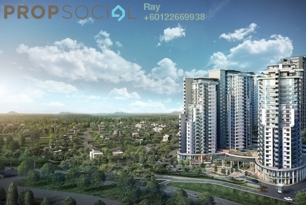 Serviced Residence For Sale in Maisson, Ara Damansara Freehold Semi Furnished 1R/1B 395k