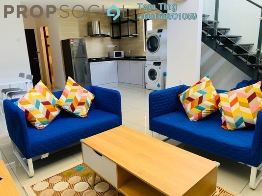 Condominium For Rent in D'Latour, Bandar Sunway Freehold Fully Furnished 3R/2B 2k
