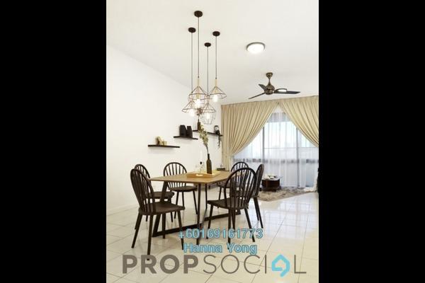 Condominium For Rent in Angkasa Impian 1, Bukit Ceylon Freehold Fully Furnished 3R/2B 3.3k