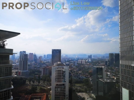 Serviced Residence For Sale in Sky Suites @ KLCC, KLCC Freehold Semi Furnished 2R/2B 850k