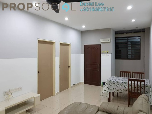 Apartment For Rent in Desa Penaga Block 60, Jelutong Freehold Fully Furnished 3R/1B 1.2k