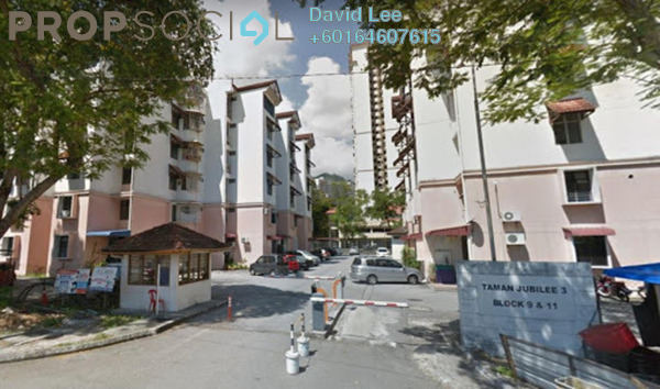 Apartment For Sale in Taman Jubilee, Sungai Nibong Freehold Semi Furnished 3R/1B 325k