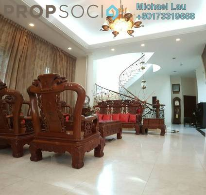 Bungalow For Sale in Bukit Jalil Golf & Country Resort, Bukit Jalil Freehold Fully Furnished 8R/8B 7m