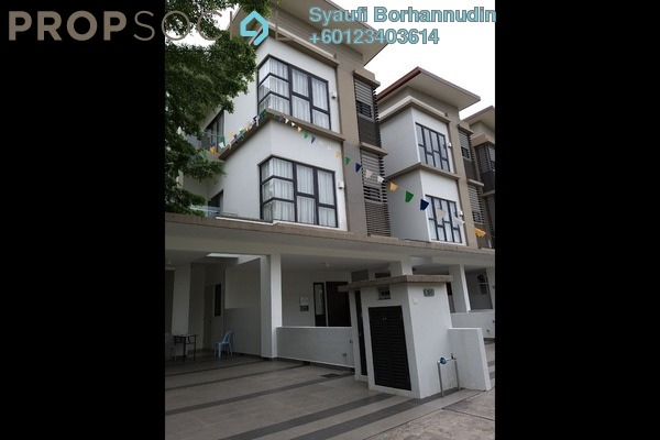 Townhouse For Rent in N'Dira Townhouse, 16 Sierra Freehold Semi Furnished 4R/4B 2.8k