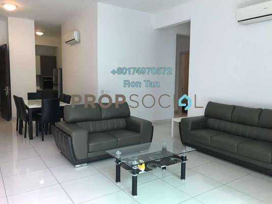 Condominium For Rent in The Light Collection II, The Light Freehold Fully Furnished 3R/2B 2.6k