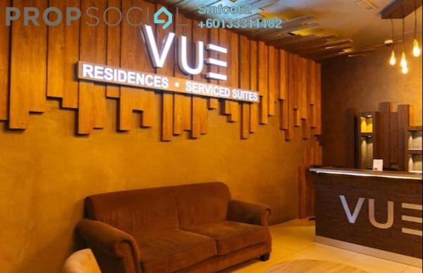 Condominium For Sale in Vue Residences, Titiwangsa Freehold Fully Furnished 3R/2B 750k