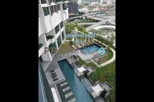 Condominium For Rent in Vogue Suites One @ KL Eco City, Mid Valley City Freehold Fully Furnished 1R/1B 3.5k