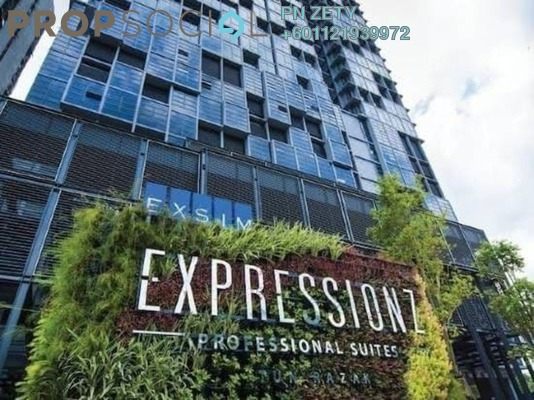 Serviced Residence For Sale in Expressionz Professional Suites, Titiwangsa Freehold Semi Furnished 2R/2B 2.4m