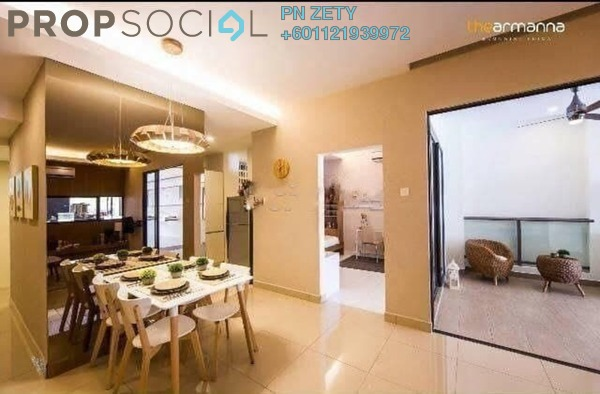 Condominium For Sale in The Armanna @ Kemuning Prima, Kemuning Utama Freehold Unfurnished 3R/2B 590k