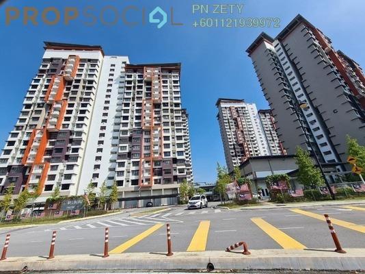 Apartment For Rent in Precinct 11, Putrajaya Freehold Unfurnished 3R/2B 1.25k