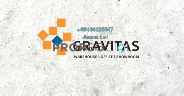 Factory For Rent in Gravitas, Shah Alam Freehold Unfurnished 0R/2B 9k