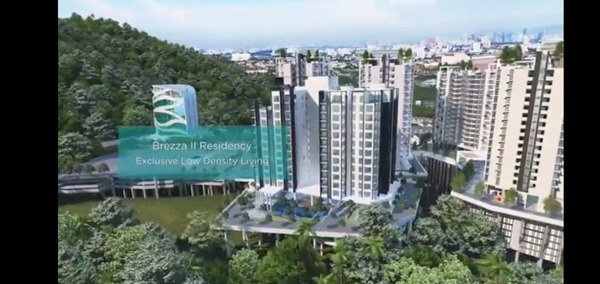Condominium For Sale in Brezza One Residency, Ampang Jaya Freehold Unfurnished 3R/2B 530k