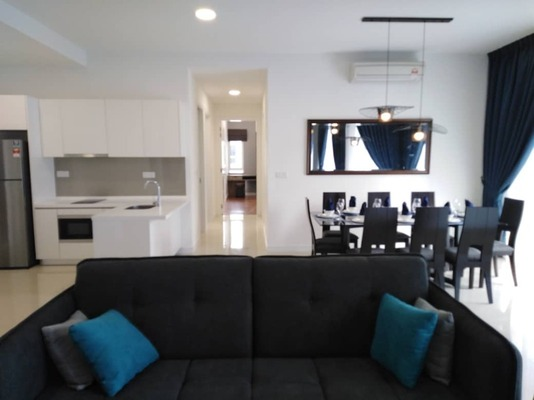 Condominium For Rent in Pavilion Hilltop, Mont Kiara Freehold Fully Furnished 3R/2B 5.8k