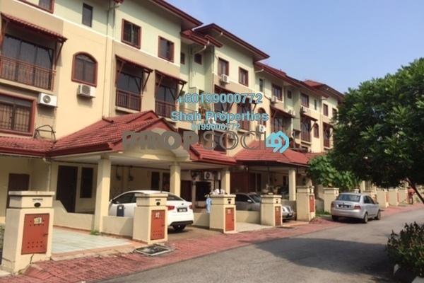 Townhouse For Sale in Villa Laman Tasik, Bandar Sri Permaisuri Leasehold Semi Furnished 4R/3B 790k