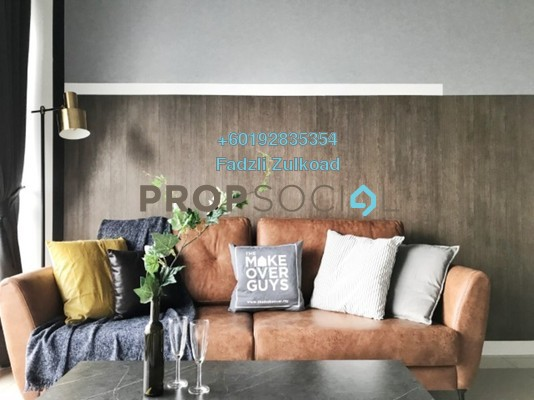Condominium For Rent in Aria, KLCC Freehold Fully Furnished 1R/1B 5k
