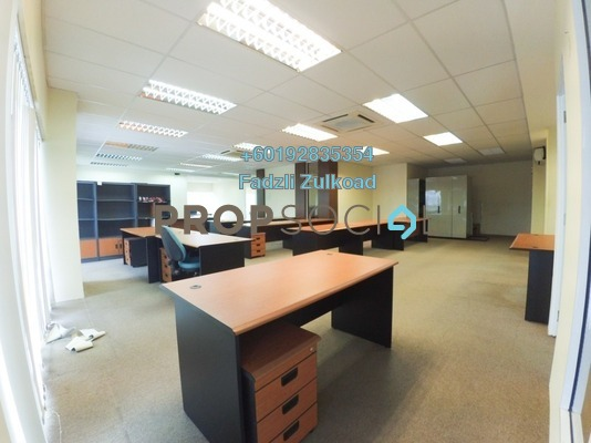 Office For Rent in Fraser Business Park, Sungai Besi Freehold Semi Furnished 0R/2B 6k