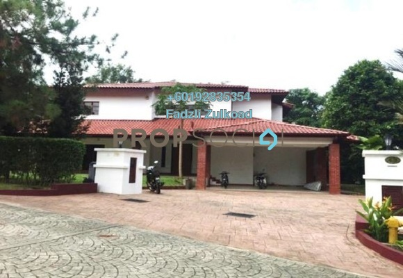 Bungalow For Rent in The Beverly Row, Putrajaya Freehold Semi Furnished 5R/6B 15k