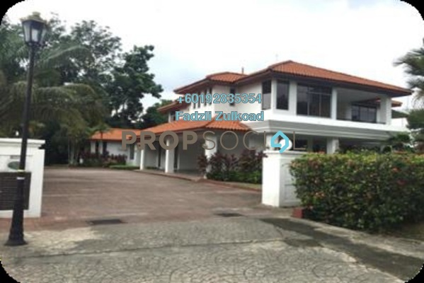 Bungalow For Rent in The Beverly Row, Putrajaya Freehold Semi Furnished 5R/7B 15k
