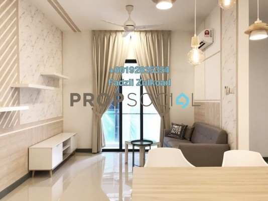 Serviced Residence For Rent in South View, Bangsar South Freehold Fully Furnished 3R/2B 3.7k