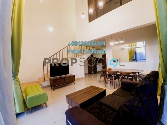 Condominium For Rent in Eclipse Residence @ Pan'gaea, Cyberjaya Freehold Fully Furnished 3R/2B 2k